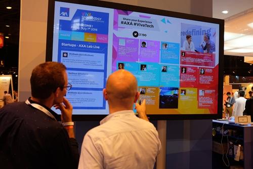 Muros de Twitter en tiempo real