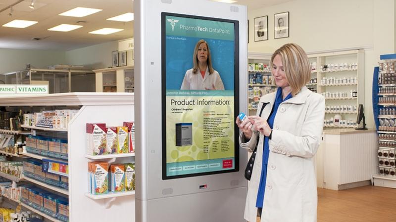 Ventajas de la cartelería digital para farmacias