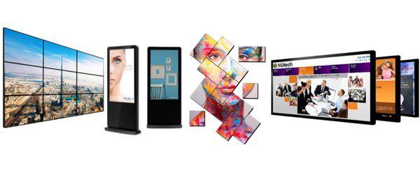 La cartelería digital le ofrece gran variedad