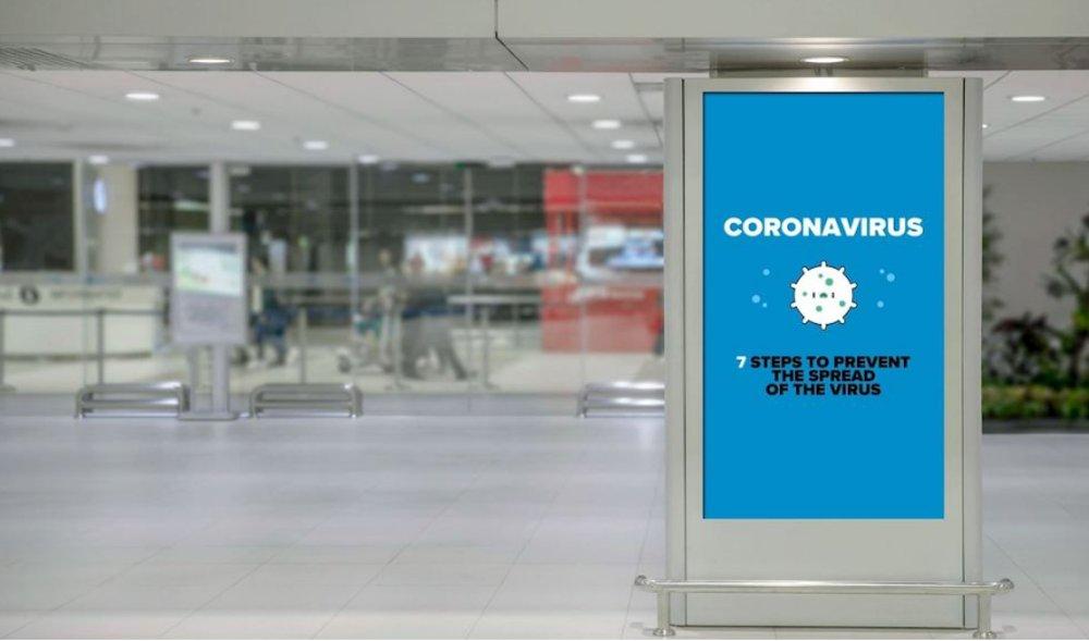 Digital signage en la prevención del coronavirus