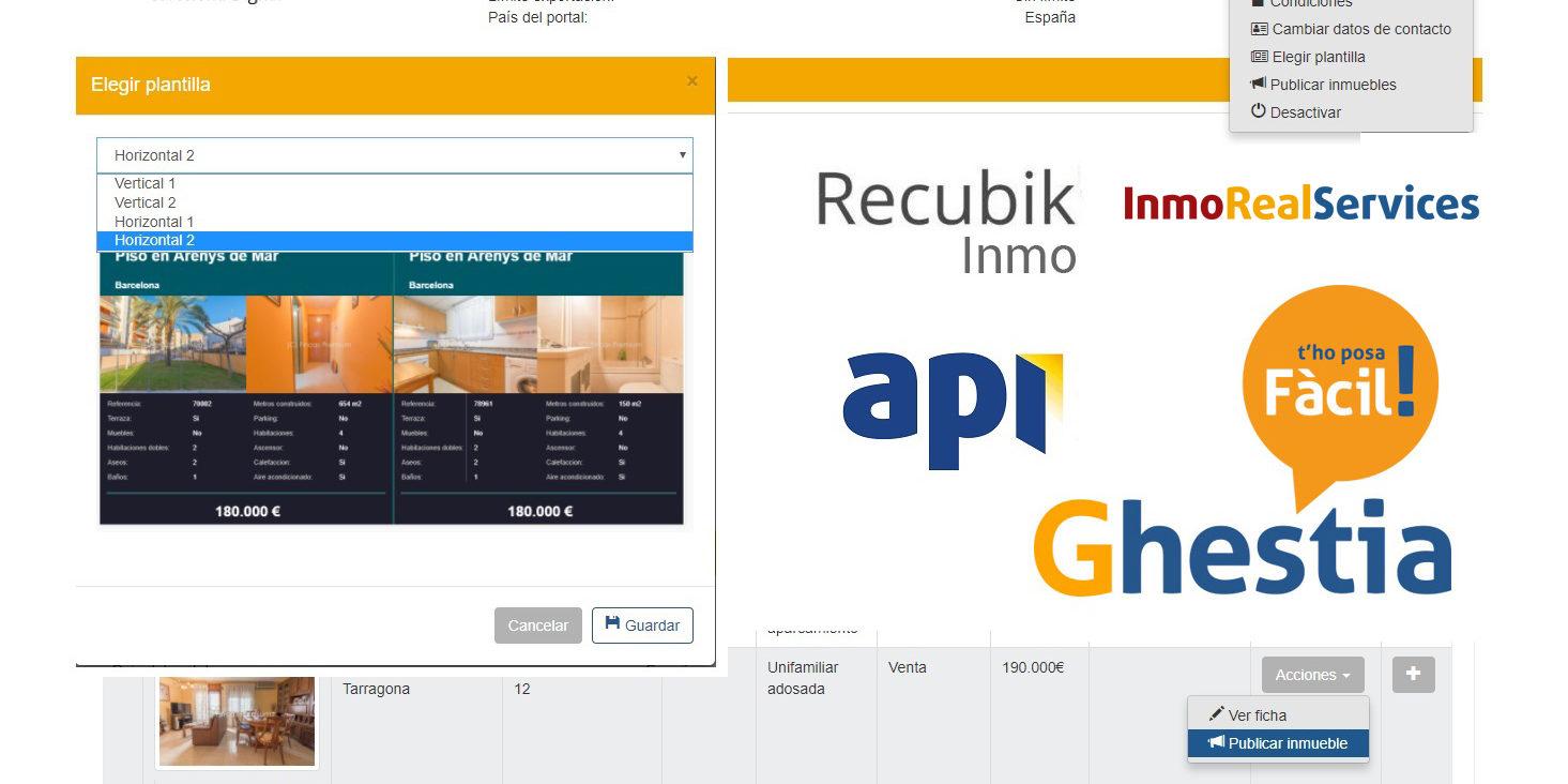 API | Portal Inmobiliario Profesional | Cartelería Digital