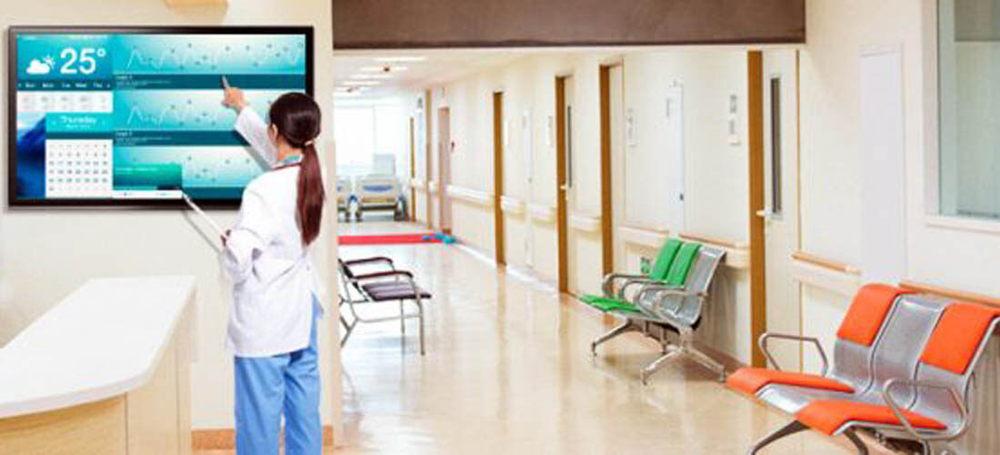 señalización digital / cartelería digital para Hospitales o Clínicas