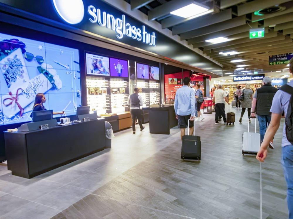 Aeropuertos que sorprenden con la señalización digital
