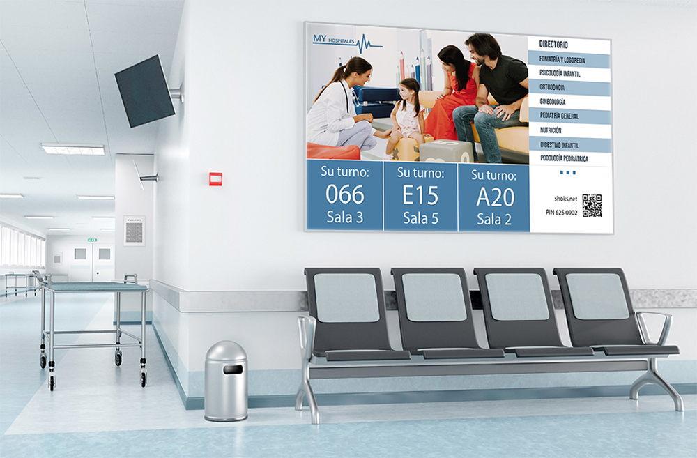 Beneficios de la señalización digital hospitalaria